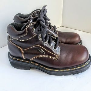 Dr Martin brown leather boot#t9271 sz uk6/🇺🇸 7